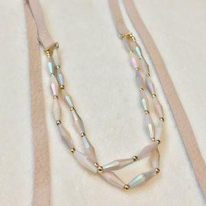 Beautiful Beaded Wrap Necklace!